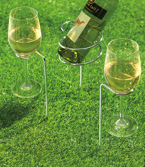 SteadySticksª Wine Glass Holders (Set of 2)