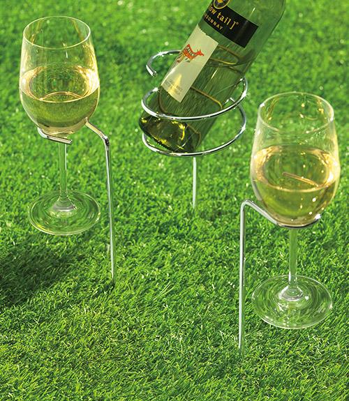 SteadySticksª Wine Glass Holders (Set of 2)