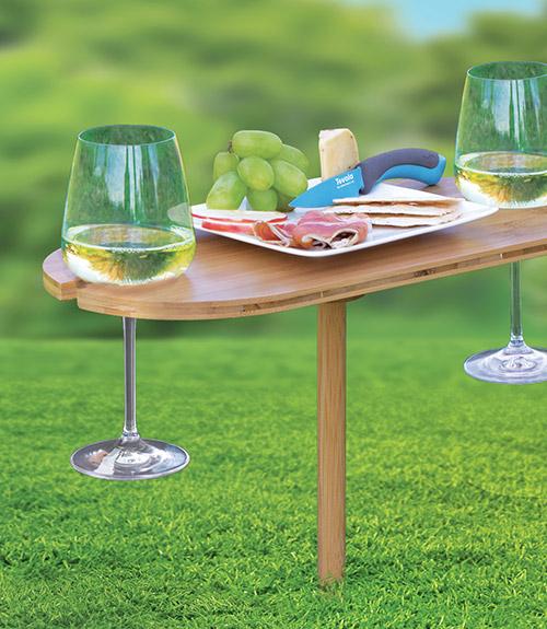 Bamboo Wine Table