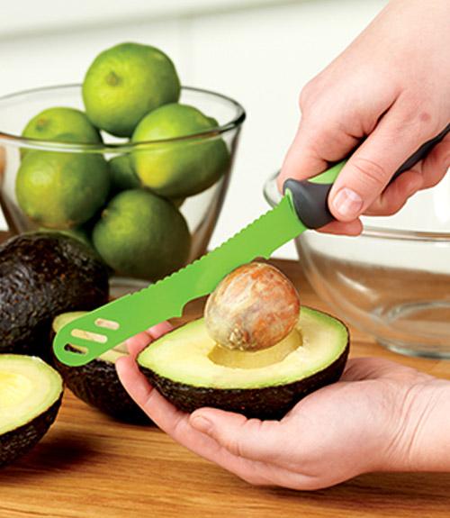 "Comfort Grip 5.75"" Avocado Knife"