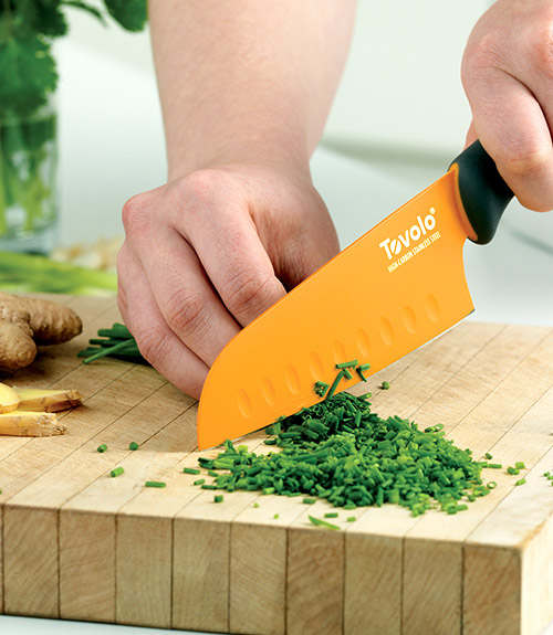 "Comfort Grip 5.5"" Santoku Knife"