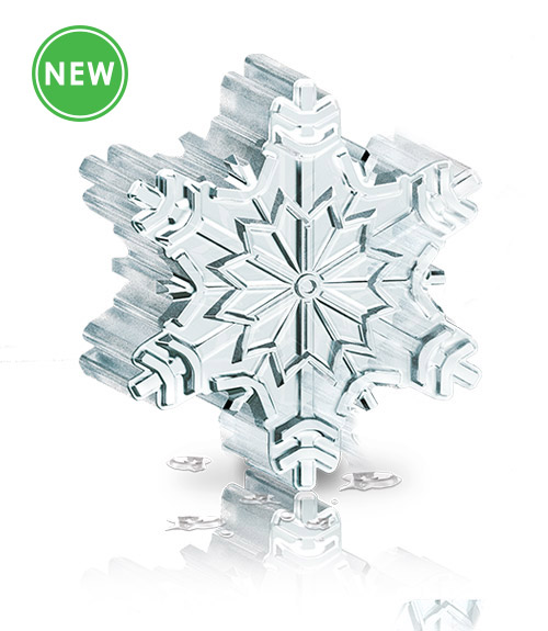 Novelty Ice - Snowflake