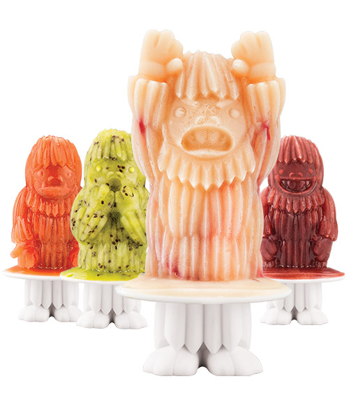 Yeti Pop Molds