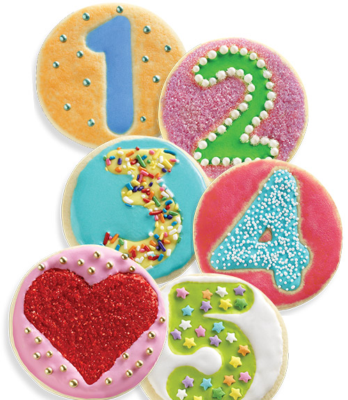 Number Fun Cookie Cutters