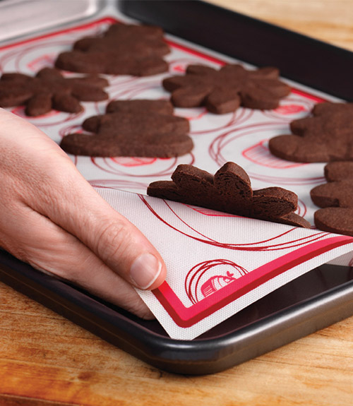 "Silicone Baking Mat - Cookie Sheet (Set of 2 - 13.5"" x 14.5"")"