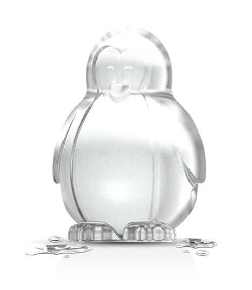 Novelty Ice Molds - Penguin