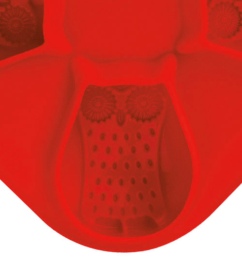 Novelty Ice Molds - Owl