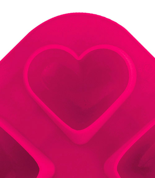 Novelty Ice Molds - Heart