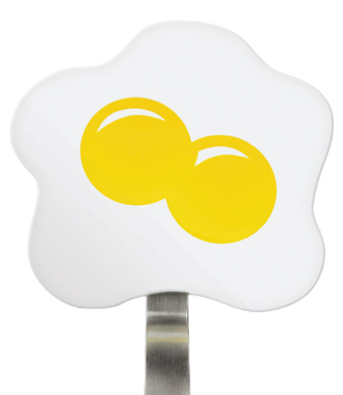 Spatulart™ Fried Egg Nylon Flex Turner