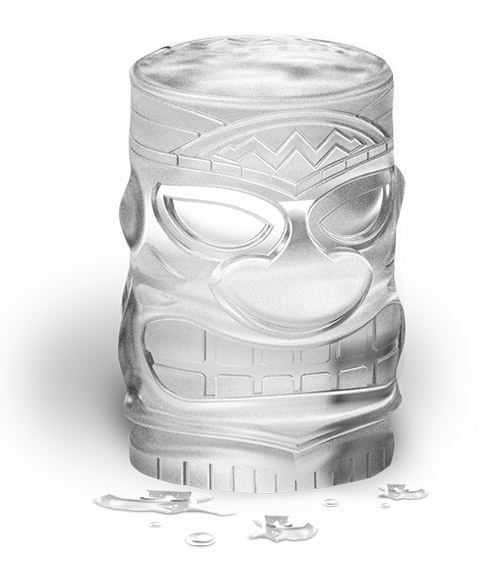 Tiki Ice Molds