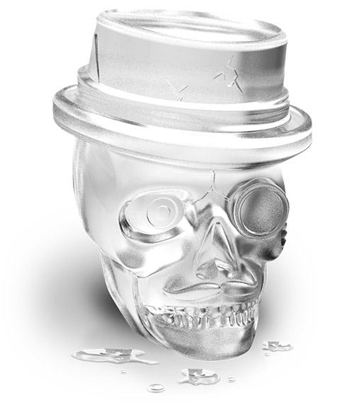 Skull Ice Molds Tovolo