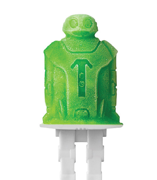 Robot Pop Molds - Set of 4