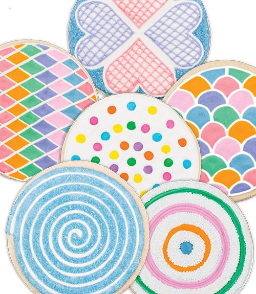 Classic Print Cookie Cutters