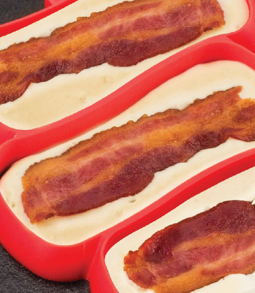 Bacon Stuffed Breakfast Shaper