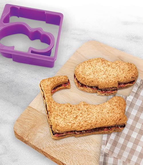 Sandwich Shaper - Hippo & Alligator