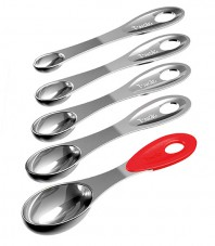 Stainless Steel Measuring Spoons - Set of 5