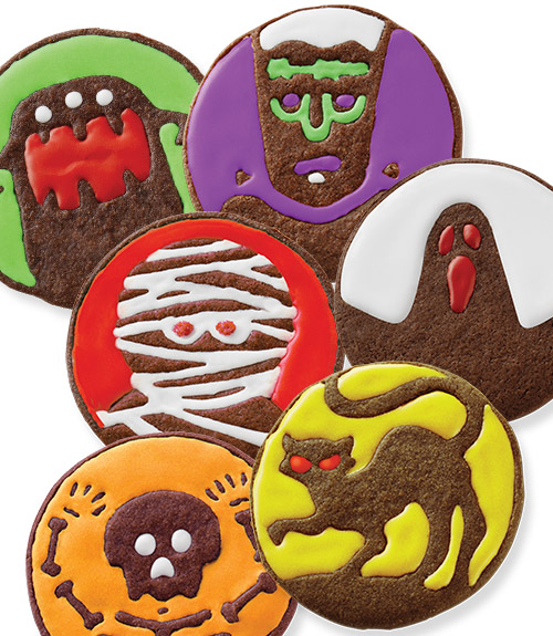 Spooky Monster Cookie Cutters
