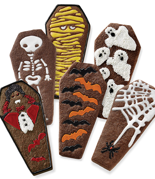 Coffin Cookie Cutters