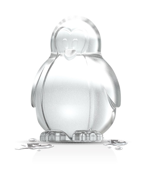 Novelty Ice Molds - Penguin