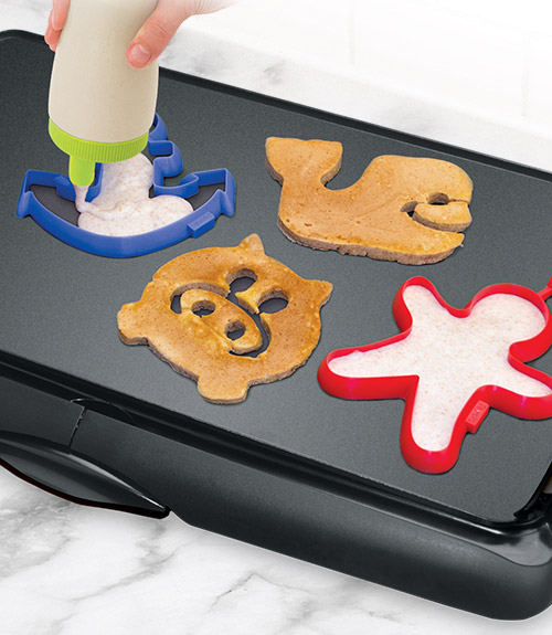 Silicone Breakfast Shaper - Whale