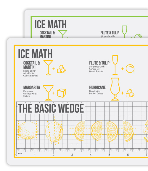 Ice Math™ Cutting Mat - Set of 2
