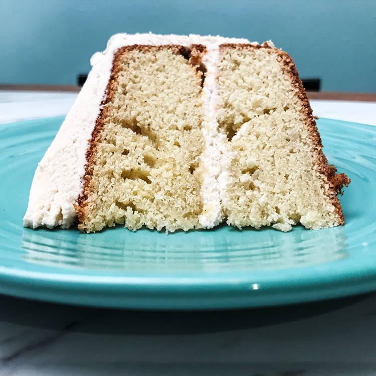 Cardamom Cake with Coffee Buttercream