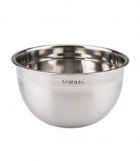 Stainless Steel Mixing Bowl - 3.5 qt.