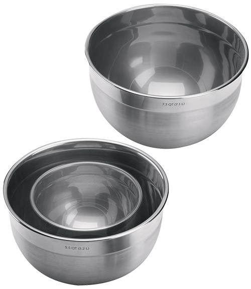 Stainless Steel Mixing Bowl - 5.5 qt.