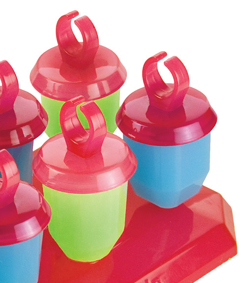 Jewel Pop Molds - Set of 6