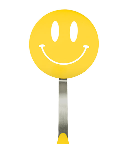 Spatulart™ Smiley Face Nylon Flex Turner