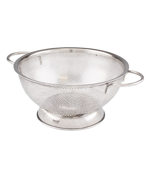 Stainless Steel Perforated Colander - Medium (2 qt.)