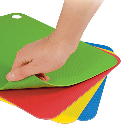 Large Flexible Cutting Mats Set Of 4 Tovolo