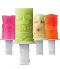 Tiki Pop Molds - Set of 4