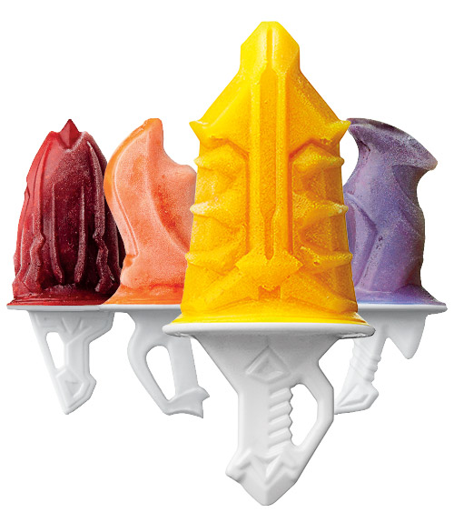 Sword Pop Molds - Set of 4