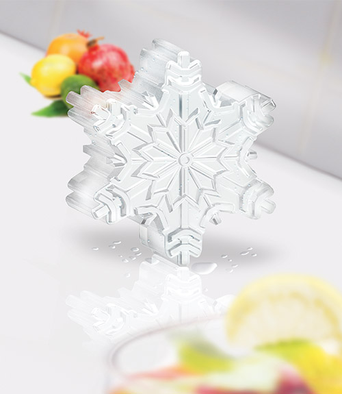 Novelty Ice Molds - Snowflake