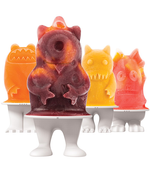 Monsters Pop Molds- Set of 4
