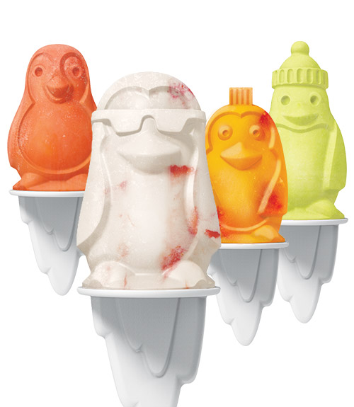 Penguin Pop Molds - Set of 4