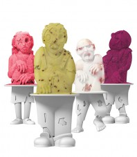 Zombies Pop Molds - Set of 4