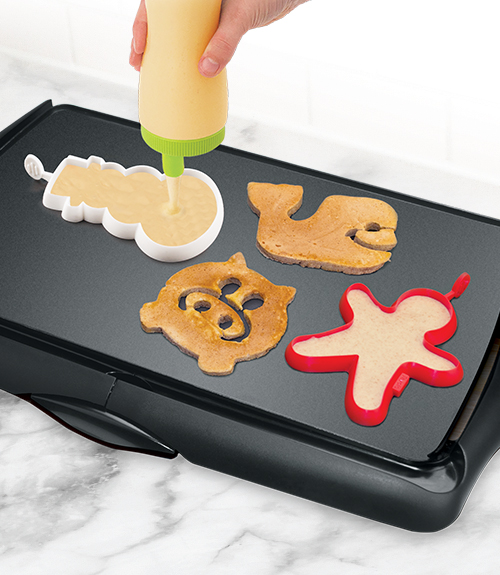Snowman Breakfast Shaper
