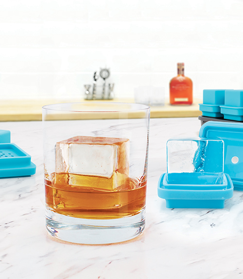 King Cube Clear Ice System - Set of 4