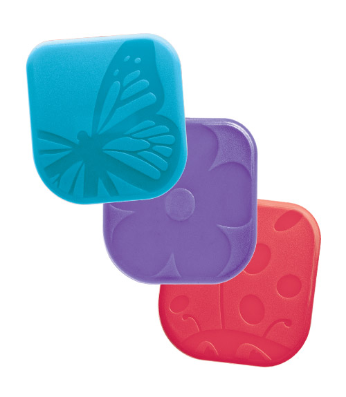 Spring Bugs Nylon Pan Scrapers - Set of 3