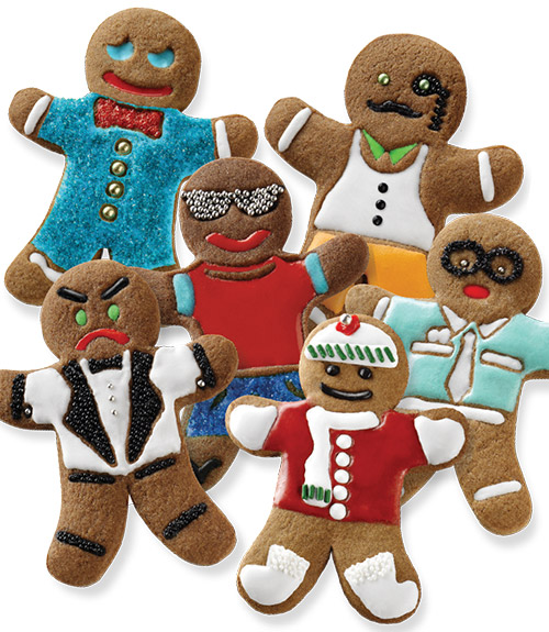 Ginger Boys Cookie Cutters