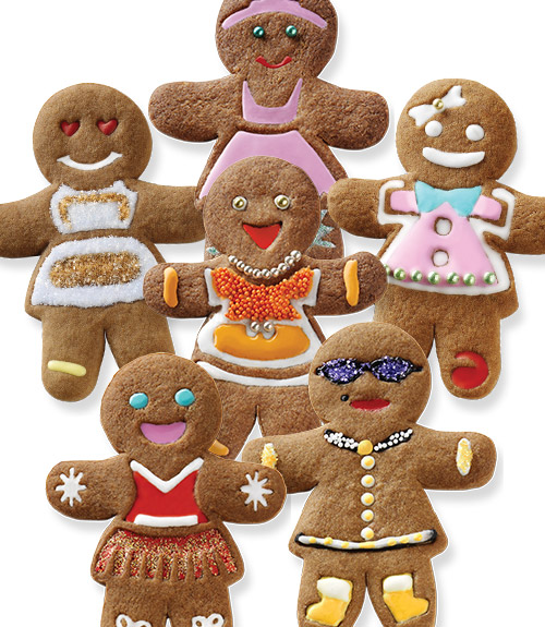 Ginger Girls Cookie Cutters