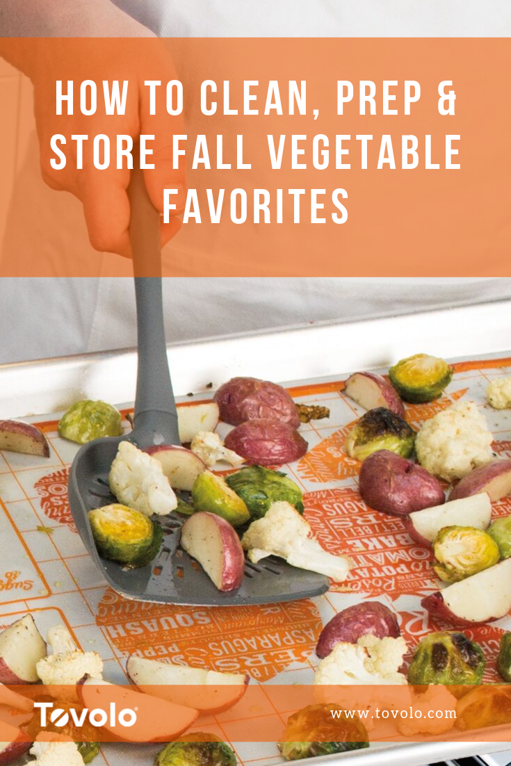 How to Clean, Prep & Store Fall Vegetable Favorites